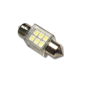 LED C5W Lamp PL-31mm-6-1210SMD with a Case